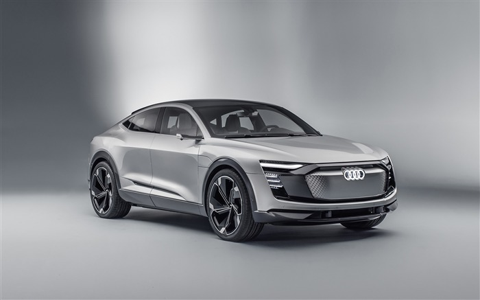Audi e tron sportback-Car Poster HD Wallpapers Views:1143