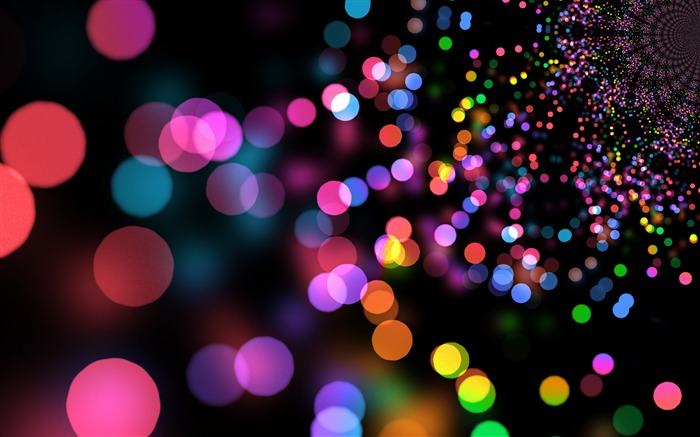 Glare circles colorful bright-2017 High Quality Wallpaper Views:958