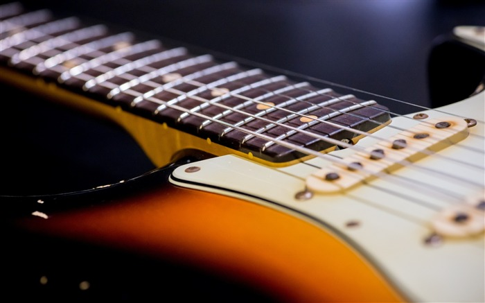 Guitar strings neck-High Quality Wallpaper