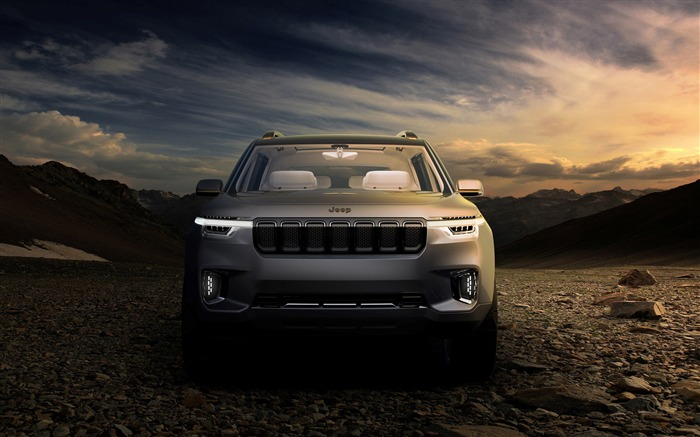 Jeep yuntu concept-Car Poster HD Wallpaper Views:1785