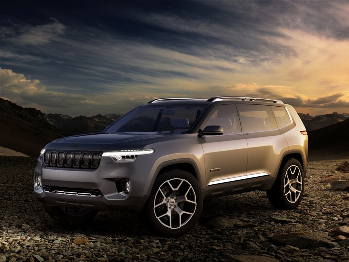 Jeep yuntu concept-Car Poster HD Wallpapers Views:1189