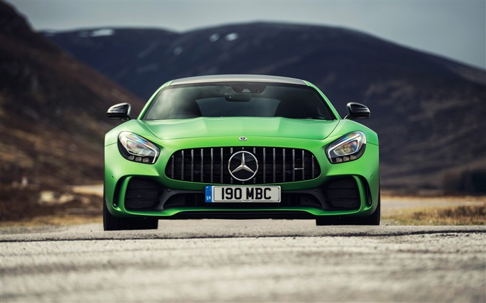 Mercedes amg gtr 2017-Car Poster HD Wallpapers Views:655