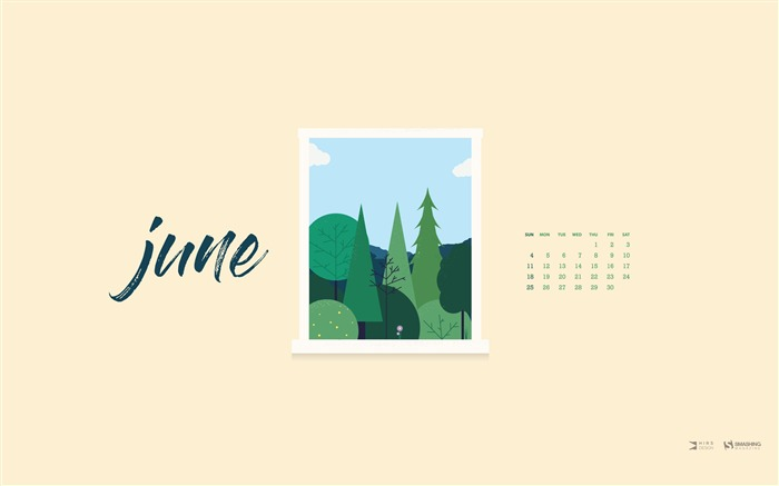 Window Of Opportunity-June 2017 Calendar Wallpaper Views:548