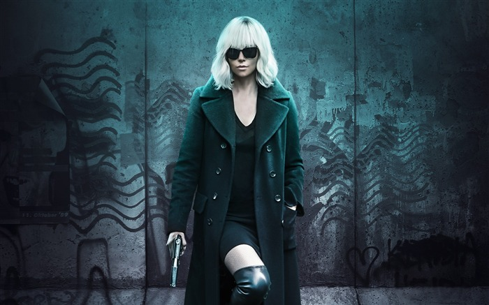 Atomic blonde charlize theron-2017 Movie HD Wallpapers Views:1294