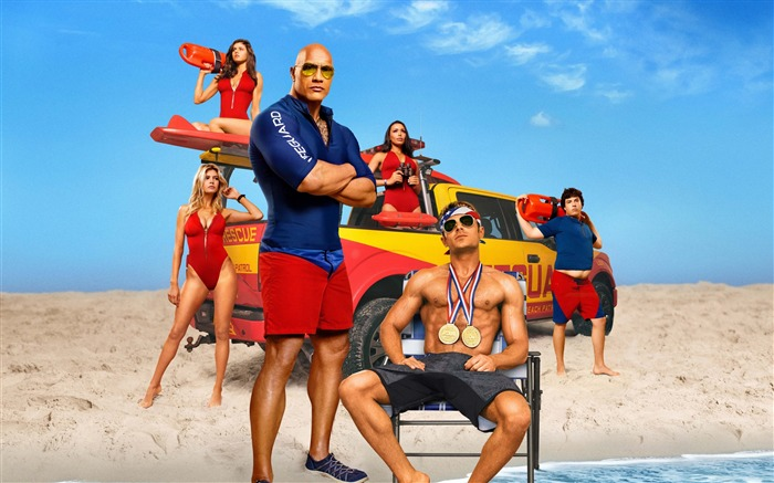 Baywatch-2017 Movie HD Wallpapers Views:900