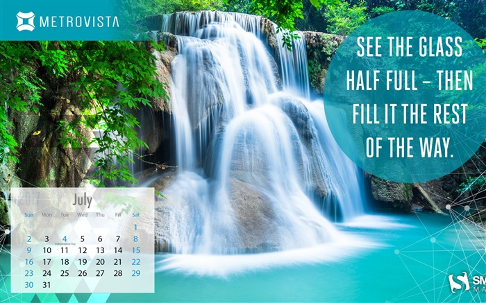Fill It The Rest Of The Way-July 2017 Calendar Wallpaper Views:1024