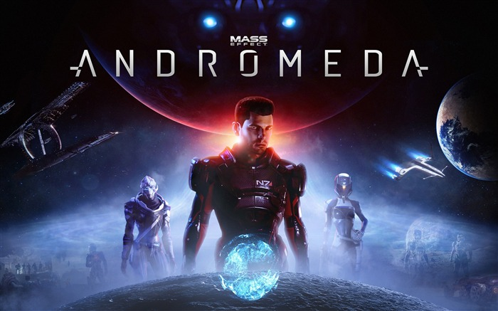 Mass Effect Andromeda 2017 Game Wallpaper Views:1665
