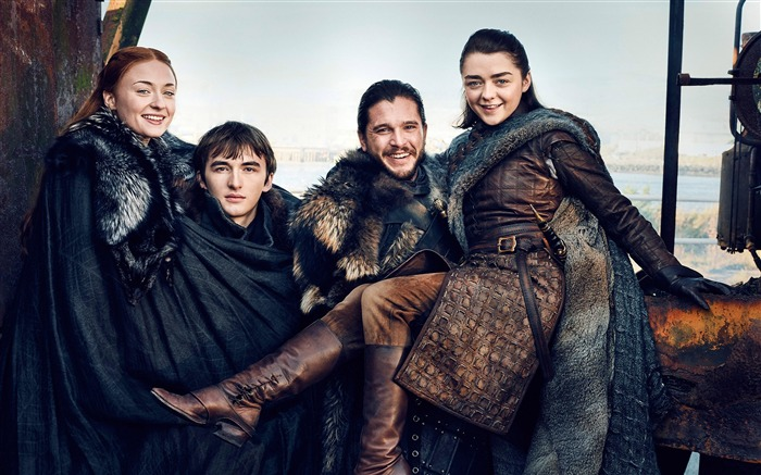 Starks game of thrones season 7-2017 Movie HD Wallpapers