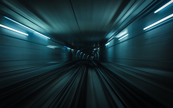 Tunnel traffic turn-High Quality Wallpaper Views:269