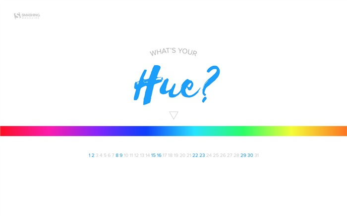 Whats Your Hue-July 2017 Calendar Wallpaper Views:474