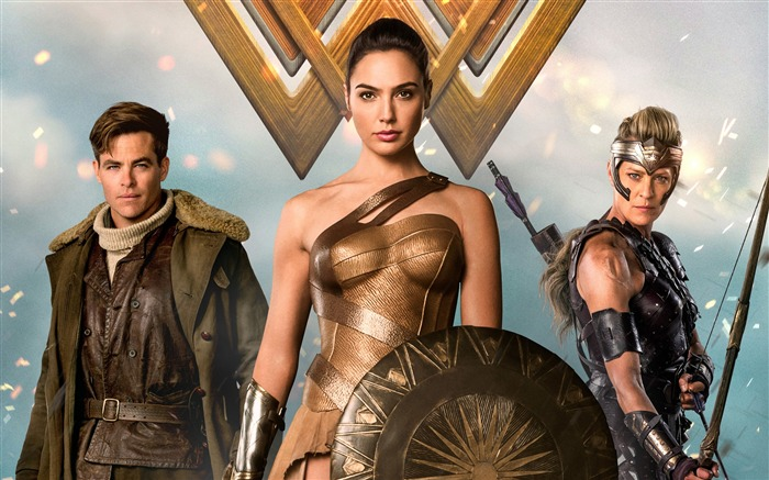 Wonder Woman-2017 Movie HD Wallpapers Views:446