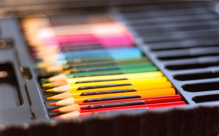 colored pencils set multicolored-High Quality Wallpaper Views:890