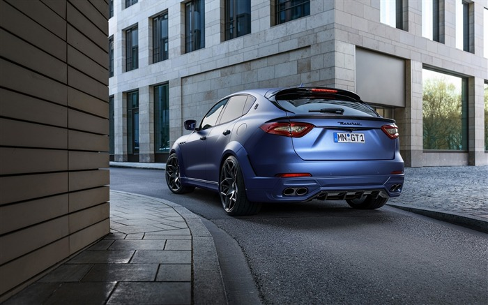 2017 Novitec Maserati Levante Esteso HD Wallpaper 09