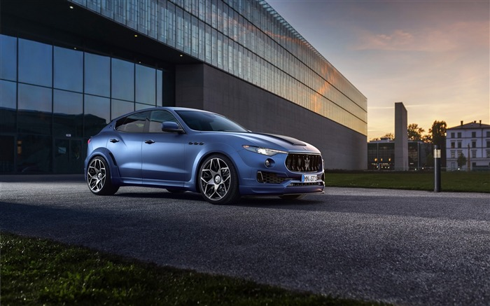 2017 Novitec Maserati Levante Esteso HD Wallpaper Views:1702