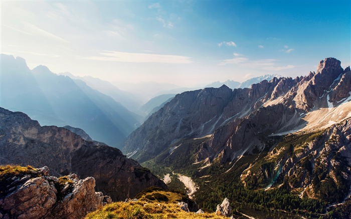 Mountains sunny day-2017 Nature HD Wallpaper Views:1187