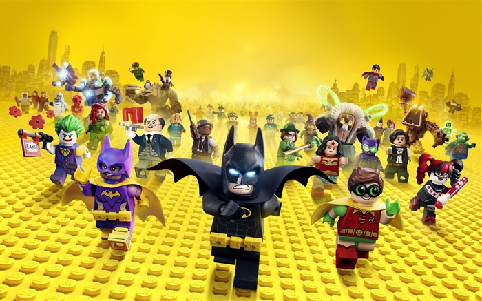 The Lego Batman Movie 2017 HD Wallpaper Views:1721
