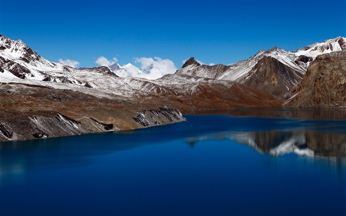 Tilicho lake nepal-2017 Nature HD Wallpaper Views:307