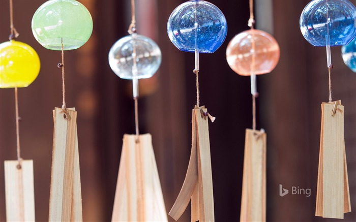 Wind chimes-2017 Bing Desktop Wallpaper Views:4471 Date:7/23/2017 12:29:05 AM