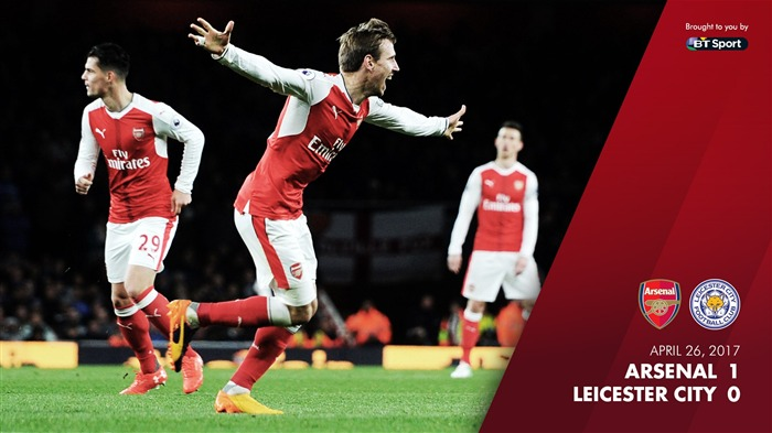 ARSENAL 1-0 LEICESTER CITY-Arsenal 2017 Wallpaper Views:551