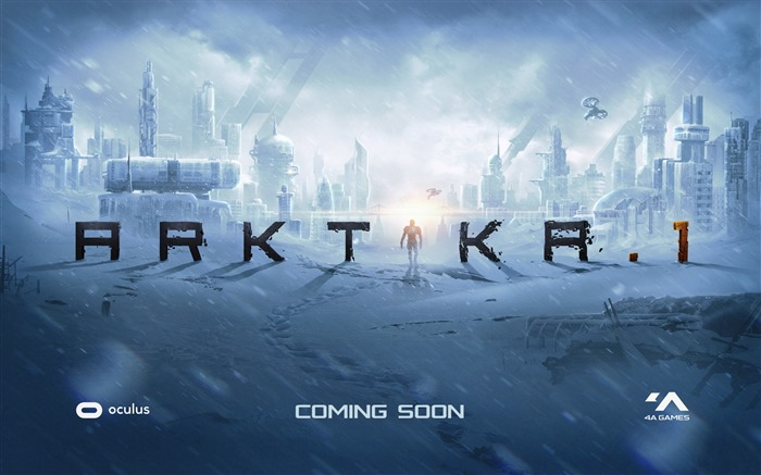 Arktika 1 oculus touch vr-2017 Game Poster Wallpaper Views:498