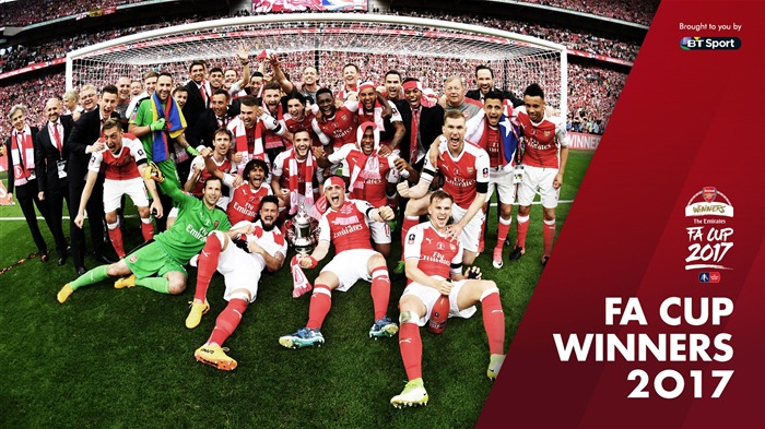 Arsenal Club FA CUP WINNERS 2017 Wallpaper Views:3489
