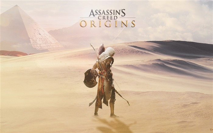 Assassins Creed Origins-2017 Game Poster Wallpaper Views:614