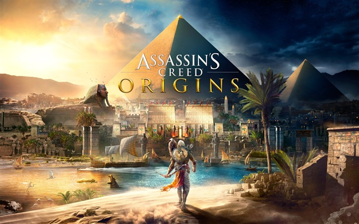 Assassins Creed Origins Egypt Pyramids Wallpaper Views:3264