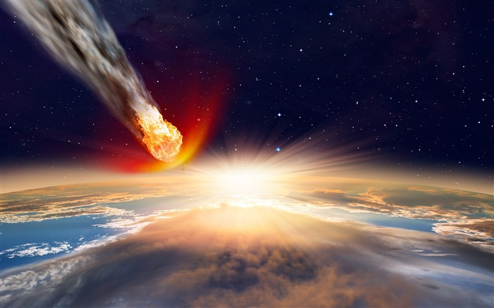 Asteroid of death-Universe HD Wallpaper Views:1558