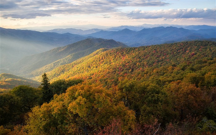 Blue ridge mountains scenery-Nature HD Wallpapers Views:404