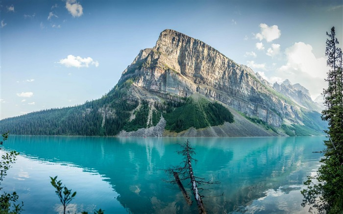 Lake louise canada travel mountain-Nature HD Wallpapers Views:559