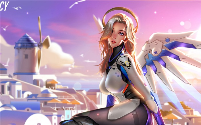 Mercy Overwatch-2017 Game HD Wallpaper Views:550