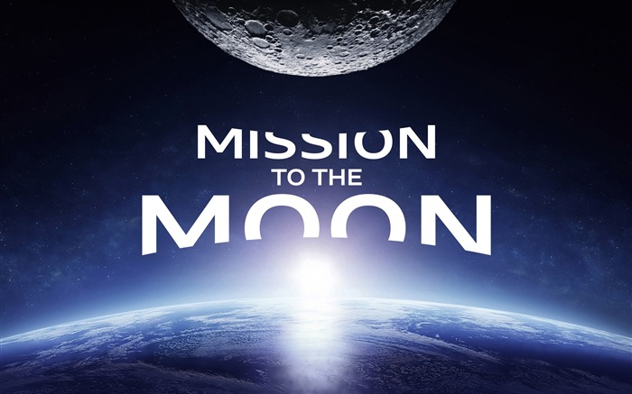 Mission to the moon-Universe HD Wallpaper Views:1470