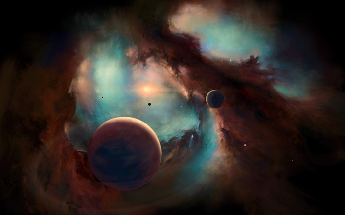 Nebula artwork-Universe HD Wallpapers Views:1452