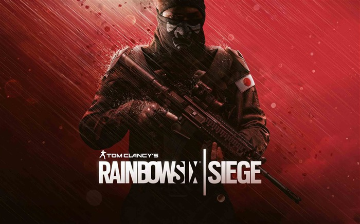 Rainbow Six Siege Japanese Operator-2017 Game HD Wallpaper Views:408