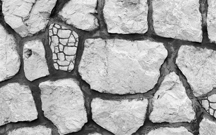 Shot of cracked stone-Design HD Wallpaper Views:296
