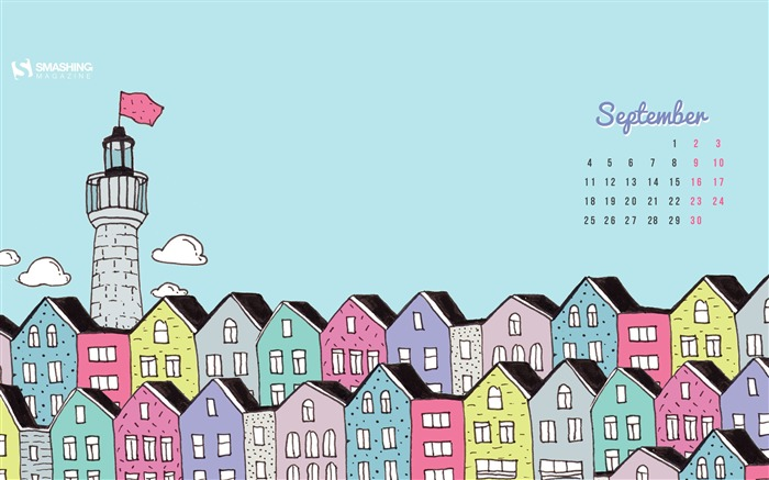 Still In Vacation Mood-September 2017 Calendar Wallpaper Views:965