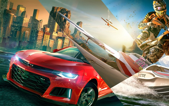 The Crew 2-2017 Game HD Wallpaper Views:197