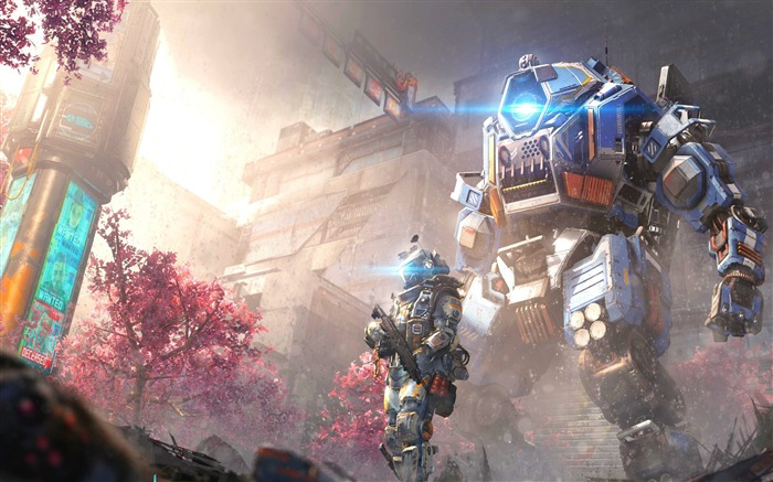 Titanfall 2 angel city-2017 Game HD Wallpaper Views:202