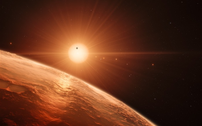 Trappist planet-Universe HD Wallpapers Views:274