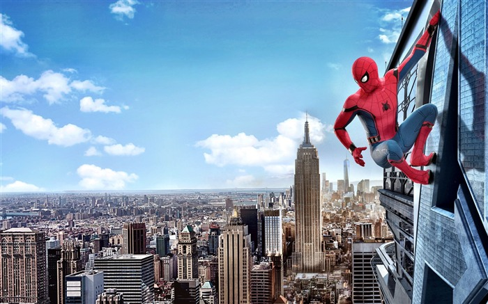 2017 Spider Man Homecoming HD Movie Wallpaper 07