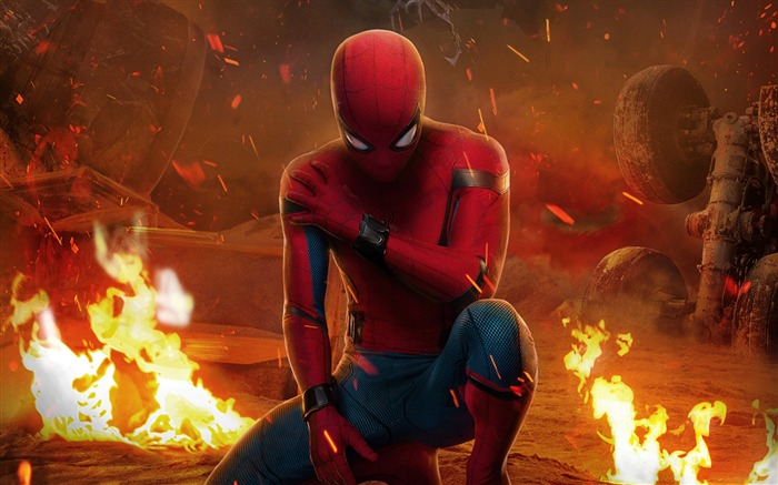 2017 Spider Man Homecoming HD Movie Wallpaper 10