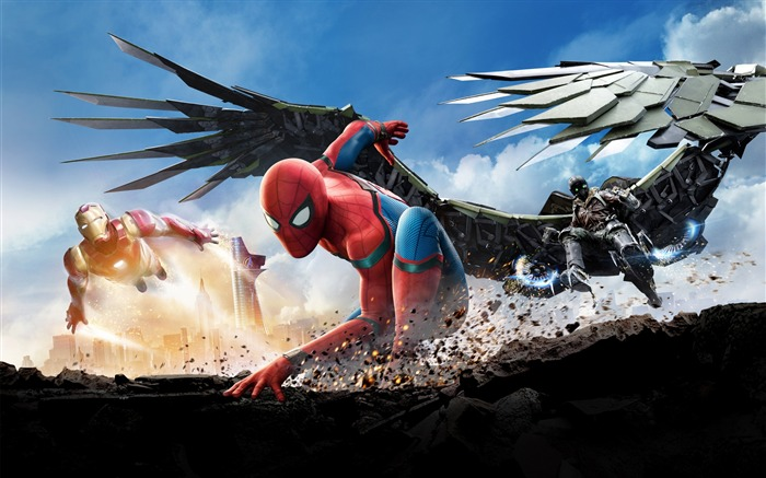 2017 Spider Man Homecoming HD Movie Wallpaper 15