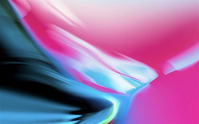 Abstract colorful silver-Apple iOS 11 iPhone 8 iPhone X HD Wallpaper Views:495