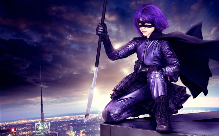 Chloe grace moretz hit girl-2017 Movie Wallpaper Views:1127