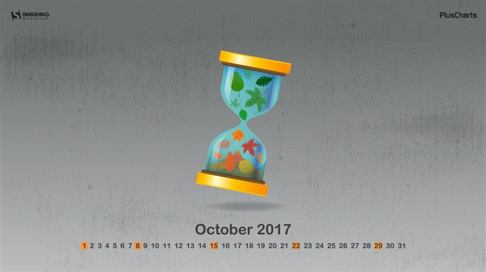Everything Changes-October 2017 Calendar Wallpaper