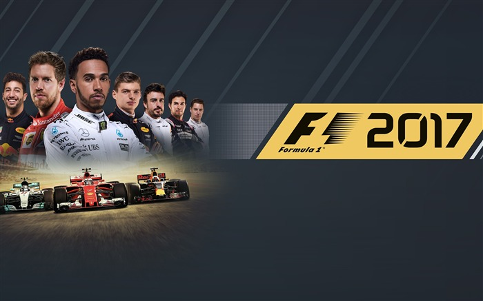 F1 2017 formula one-2017 Game HD Wallpapers Views:1161