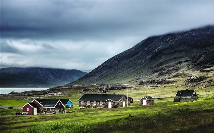 Houses kujataa greenland-National Geographic Wallpaper Views:407