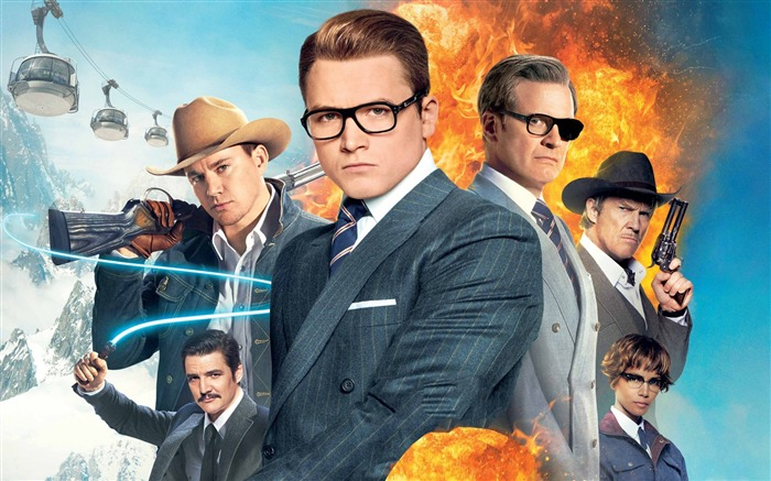 Kingsman the golden circle-2017 Movie HD Wallpapers