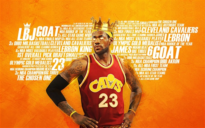 2016-17 NBA Finals Superstar Desktop Wallpaper Views:2233