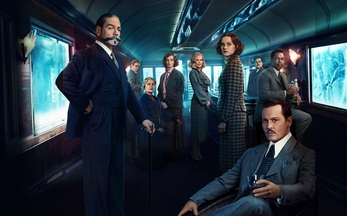 Murder on the orient express cast-2017 Movie Wallpaper Views:1387